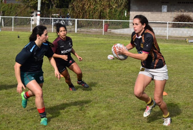Capacitación Rugby Femenino ATAQUE